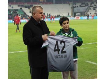 Şehit Fethi Sekin'in Oğlu Konyaspor - Galatasaray Maçında