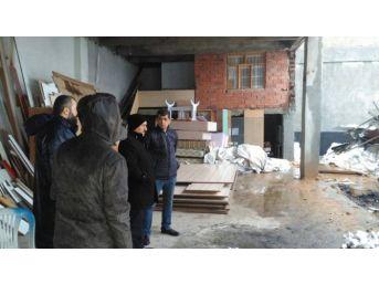 Seydişehir'de Hasar Tespit Çalışmaları Devam Ediyor