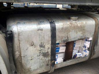 Mardin'de 38 Bin 800 Paket Kaçak Sigara Ele Geçirildi