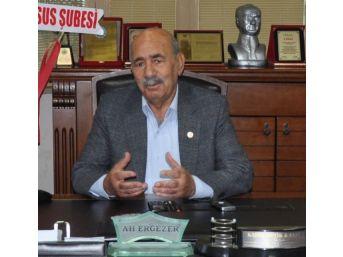 Ziraat Odası Başkanı Ali Ergezer; '20 Milyon Zarar Var, Borçlar 5 Yıl Ertelenmelidir'