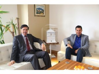 Bodrum Kaymakamı Yılmaz'dan Başkan Kocadon'a Ziyaret