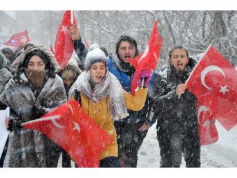 Omü'lü Öğrenciler Sarıkamış'ı Unutmadı