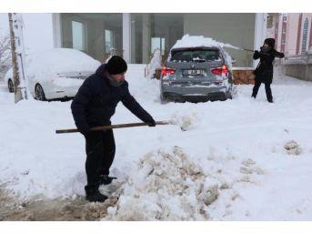 Samsun'da 60 Mahalle Yolu Kar Nedeniyle Kapandı