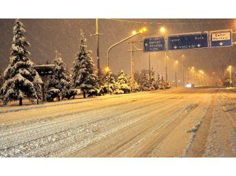 Uşak'ta Kar Tatili