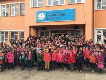 Çaycuma Tegv, Bakacakkadı İlkokulu'nda Etkinlik Düzenledi