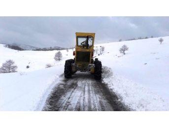 Zonguldak'ta 63 Köye Ulaşım Sağlanamıyor