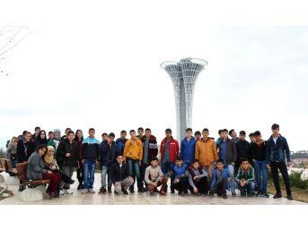 Ağrılı Öğrenciler Antalya'ya Hayran Kaldı
