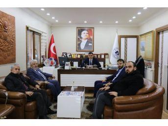 Başkan Yalçın'a Din Adamlarından Ziyaret