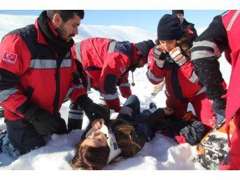 Bingöl'de Kurtarma Tatbikatında Kaza: 1 Yaralı