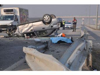 İnegöl'de Trafik Ve İş Kazalarında Büyük Artış