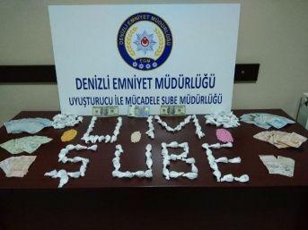 Denizli'de Uyuşturucu Operasyonu: 3 Tutuklama