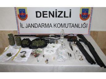 Denizli'de Uyuşturucuya 10 Gözaltı