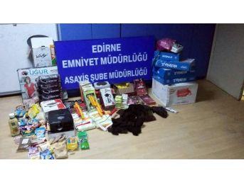 Edirne'de Cezaevi Firarisi Hırsızlıktan Yakayı Ele Verdi