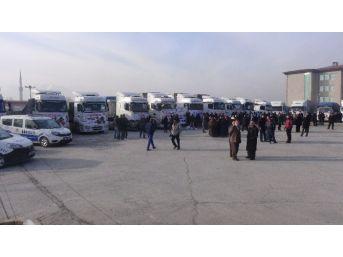 Erzincan Dan Halep'e 33 Tır Yardım Malzemesi Yola Çıktı
