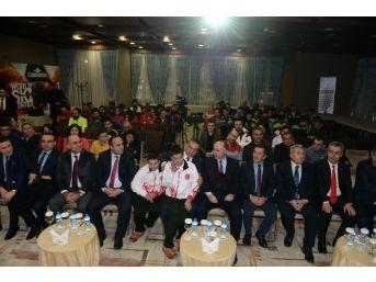 Türkiye Özel Sporcular Kayak Şampiyonasının Açılışı Yapıldı