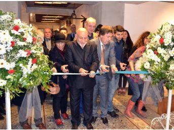 """Öğr. Gör. Aliyev'den """"hayatımdan Kareler"""" Adlı Resim Sergisini Açtı"""