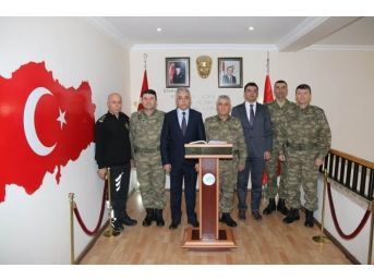 Korgeneral Çetin'den Vali Toprak'a Ziyaret