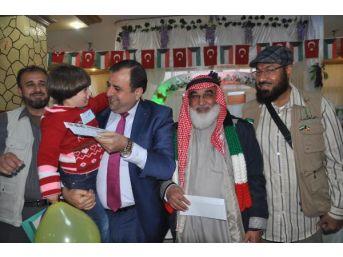 Kuveyt Derneği'Nden Suriyeli Yetimlere 200'Er Lira Harçlık...