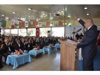 Mhp Dörtyol İlçe Başkanı Şerif Türker Güven Tazeledi