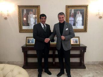 Fikret Orman'dan Katar Büyükelçiliği'ne Ziyaret
