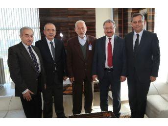 Erü Rektörü Prof. Dr. Muhammet Güven, Hayırsever Ziyaretlerine Devam Ediyor