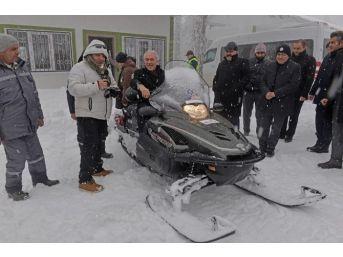 Başkan Kamil Saraçoğlu: Kayak Merkezi'nin Daha Da Gelişmesi İçin Desteğimiz Sürecek