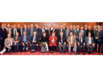Başkan Eser, Ankara'da Darendelilerle Buluştu