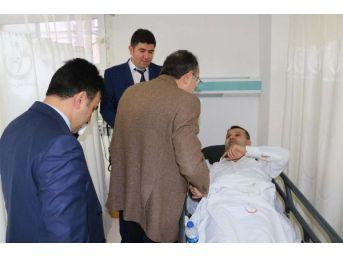 Kaymakam Ve Belediye Başkanı Kazada Yaralandı (2)