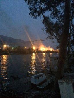 Anamur'da Yangın Paniği