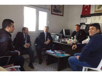 Muski Milas'ta Muhtarları Ziyaret Etti