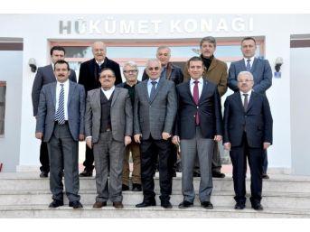 Kaymakam Güney, Samsun'dan Gelen Meslektaşlarını Ağırladı