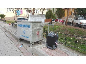 Samsun'da Şüpheli Valiz Alarmı