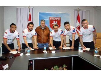 Samsunspor'dan İmza Şov