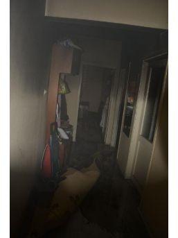 Sinop'ta Evde Çıkan Yangın Korkuttu...