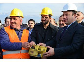 Erbaa'da Yeni İtfaiye Binası İçin Temel Atma Töreni