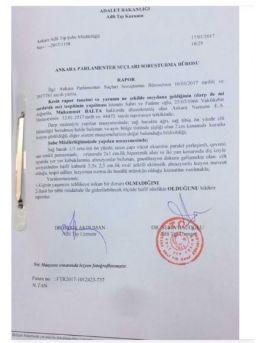 Adli Tıp 'ak Parti Trabzon Milletvekili Isırıldı' Dedi