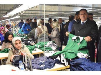 Tekstilkentin Sorunları Masaya Yatırıldı