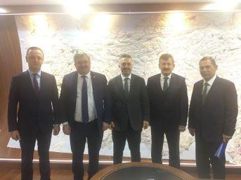 Çaturoğlu, Dsi Genel Müdürü Murat Acu İle 2017 Yatırım Programını Görüştü