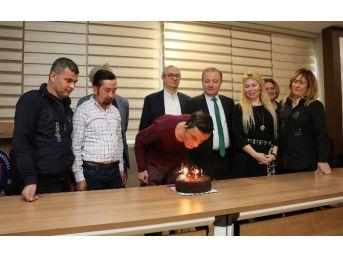 Yüzde Yüzlük Başarıda 5'inci Yıla Pastalı Kutlama