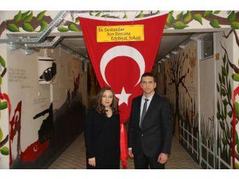 """Erzin'de """"ilk Destandan, Son Destana Edebiyat Sokağı"""" Açıldı"""