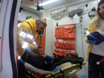 Sason'da 24 Saatlik Hasta Kurtarma Operasyonu