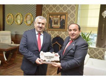 Başkan Baran, Posof Belediye Başkanı Ulgar'ı Ağırladı