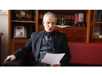 Hukukçular Derneği Başkanı Karabay, Chp'nin Tavrını Eleştirdi