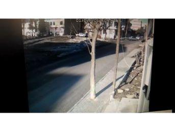 Tekirdağ'da Kaza Anı Kamerada