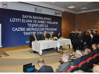 Cazibe Merkezleri Bilgilendirme Toplantısı Kars'ta Yapıldı