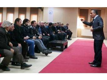 Erciş'te Tarsim Bilgilendirme Toplantısı