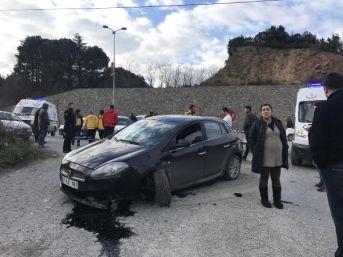 2 Kişinin Yaralandığı Kaza, Güvenlik Kamerasında