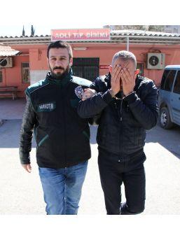 81 Kilo Metamfetaminle Yakalanan Şahıs Adliyeye Sevk Edildi