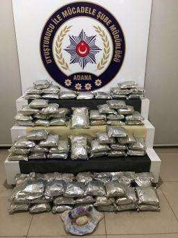 Adana'da 81 Kilo Metamfetamin Ele Geçirildi