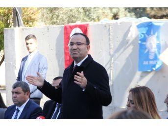 """Adalet Bakanı Bozdağ: """"fetö'den Hazineye Geçen Bir Okulu Adliyeye Çevirme Kararı Aldık"""""""